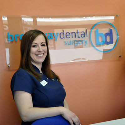 Vicky- Receptionist at Broadway Dental Surgery